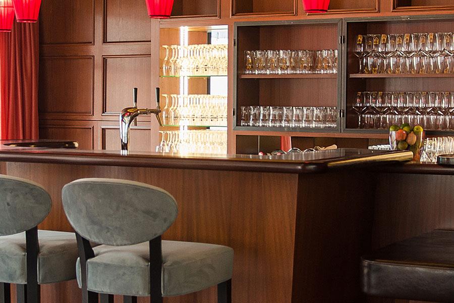 """""""Bar Berlin"""" im Hotel zum Löwen, Duderstadt"""
