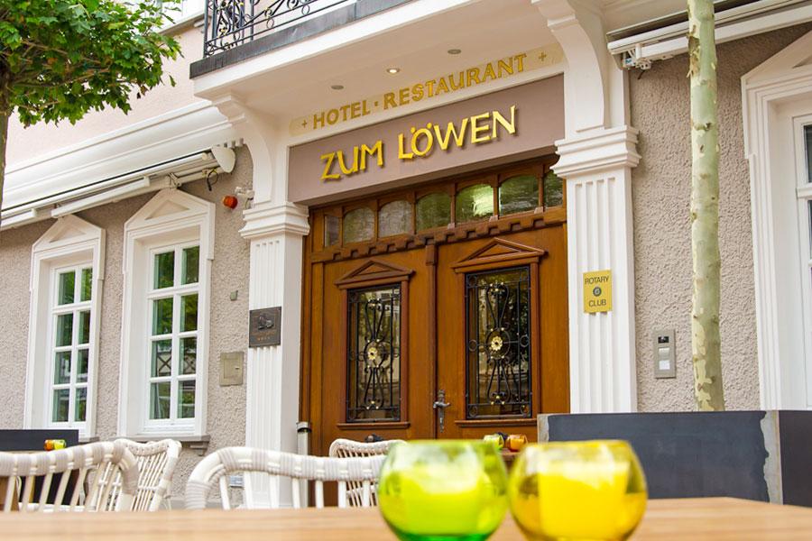 Eingang zum Hotel zum Löwen, Duderstadt