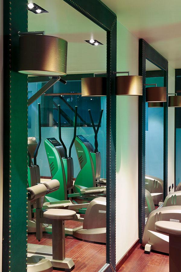 Fitness-Bereich im Hotel zum Löwen, Duderstadt